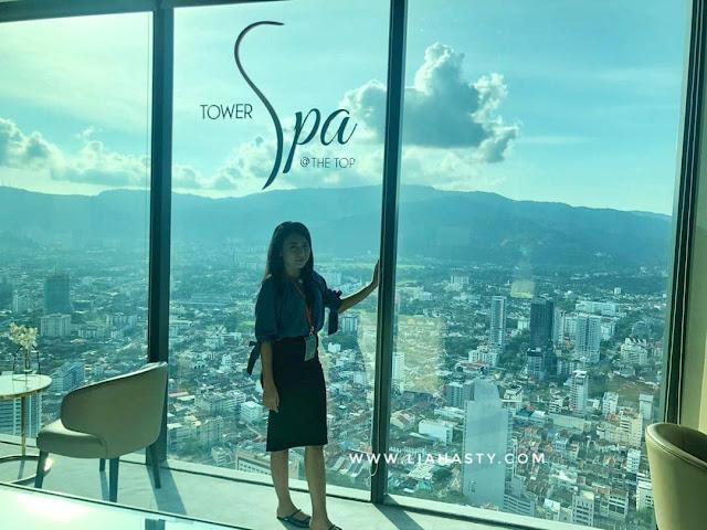 Manjakan diri di spa tertinggi Tower Spa dengan Panorama Menarik