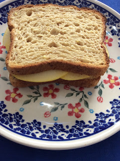 Cheese and Apple Sandwich