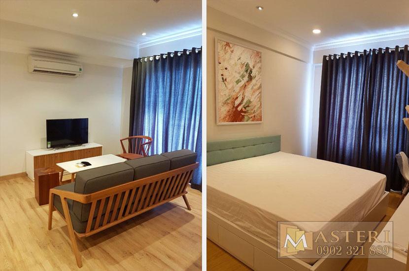 Cho thuê căn hộ Masteri tòa T1 tầng 38 với 3 phòng ngủ - hinh 10