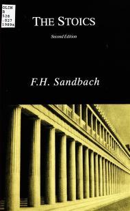 Download The Stoics by  F. H Sandbach Free PDF eBook