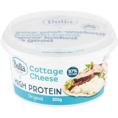 produk olahan susu seperti cottage cheese memiliki kandungan protein yang tinggi