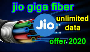 jio Giga fiber unlimited data