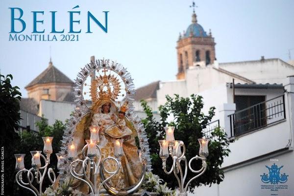 Cartel de Nuestra Señora de Belén de Montilla 2021