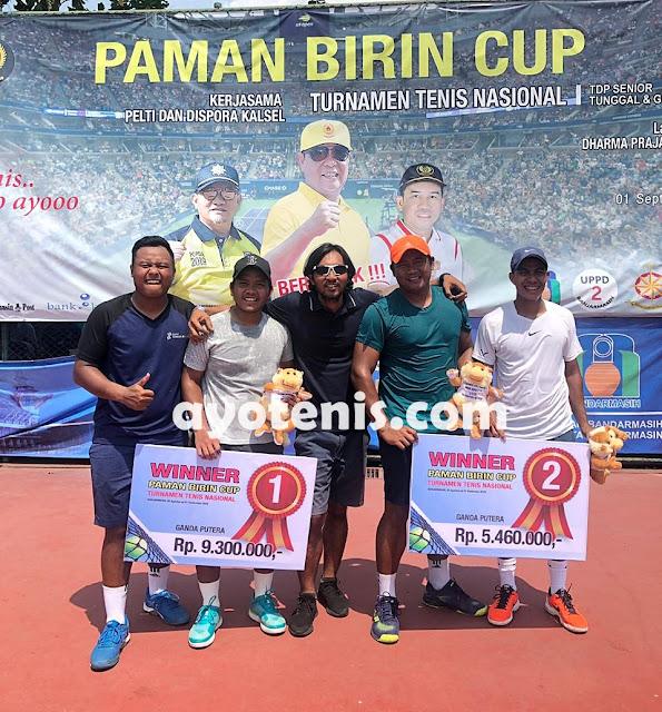 Paman Birin Cup: Wisnu Adi/Iqbal Bilal Sabet Gelar Juara