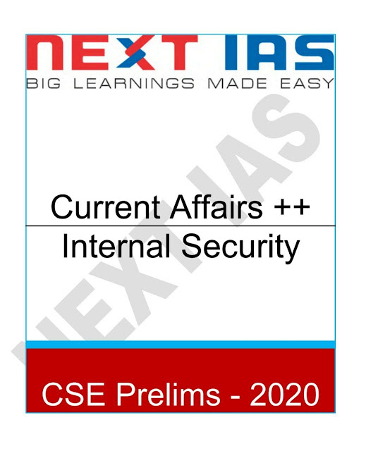 Current Affairs Internal Security : For IAS Exam PDF Book
