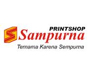 Lowongan Kerja Kasir/Customer Service, Design Grafis, Operator Mesin A3+ /Mesin Outdoor MMT, Web Admin di Sampurna All Print - Yogyakarta