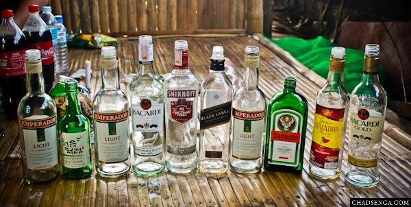 liquor, alak, inuman, drinking session, Baler, Itinerary, Surfing, Sabang Beach, Pacific Waves Inn, Travel, Aurora, Philippines
