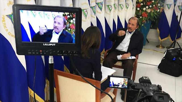 Ortega acusa a EEUU de 'alimentar' a golpistas en Nicaragua