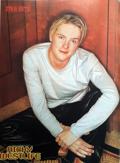 PIN UP NICKY WESTLIFE
