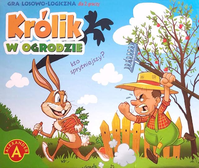 królik w ogrodzie, pepco, zabawa, damazprowincji