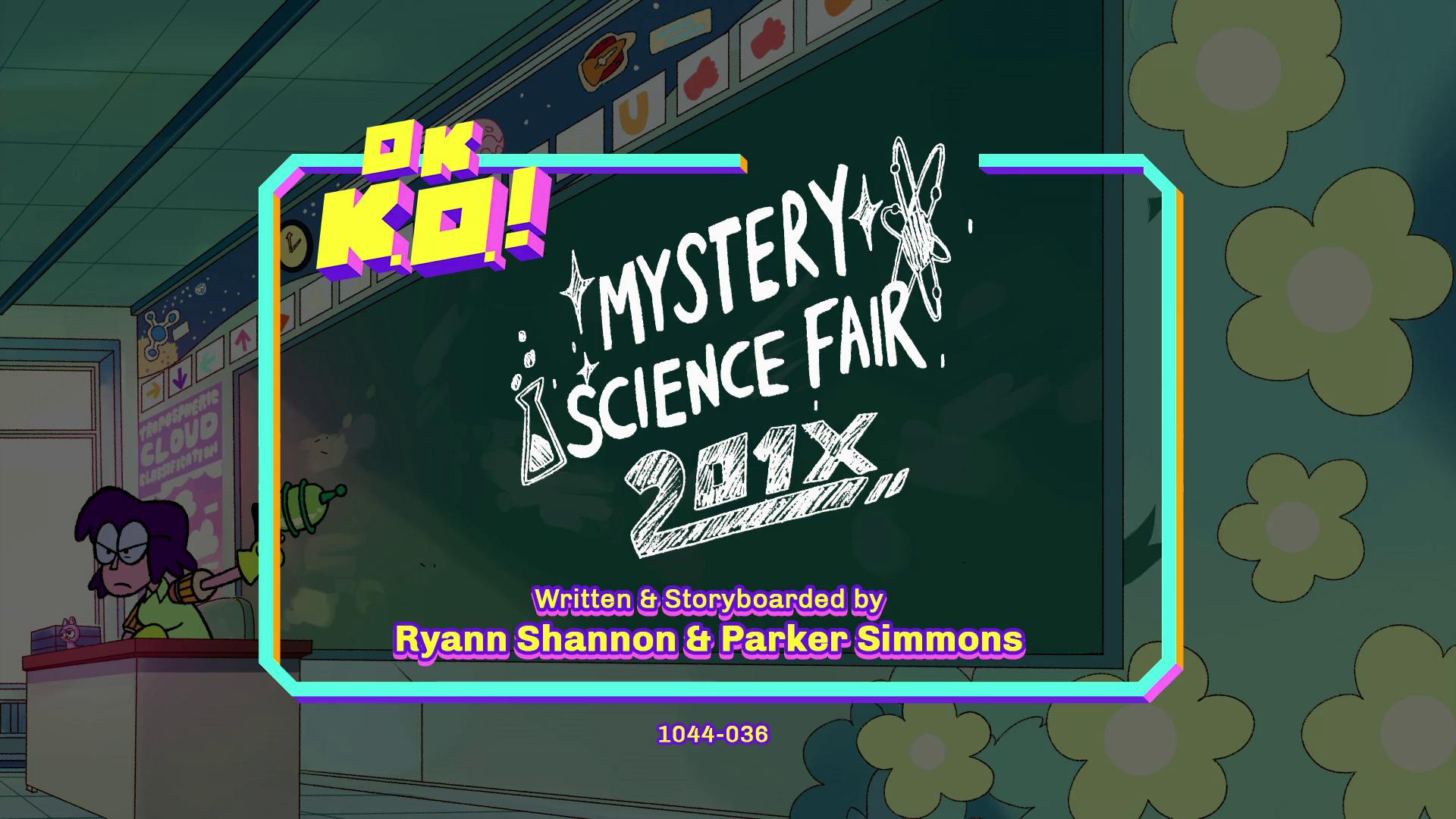 OK, K.O.! Vamos ser Heróis - Feira de Ciências Misteriosa de 201X