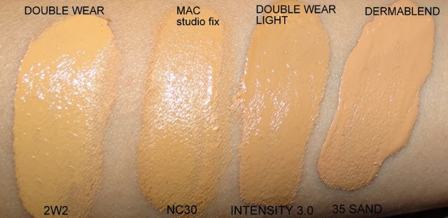 double wear, mac, dermablend