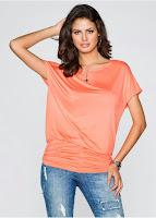 Bluză cu model lejer și feminin (bonprix)
