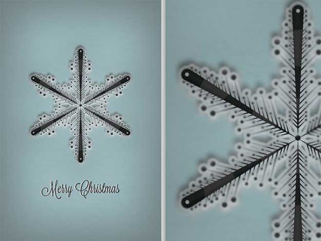 33 Christmas Cards to Print by Saltaalavista Blog