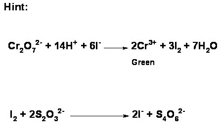 Chemistry Laboratory: How could you determine the