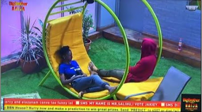 """#BBNaija: """"It's Not A Payback"""" - Diane And Elo Thrash Out Issues After Venita Got Chosen Over Her (VIDEO)"""