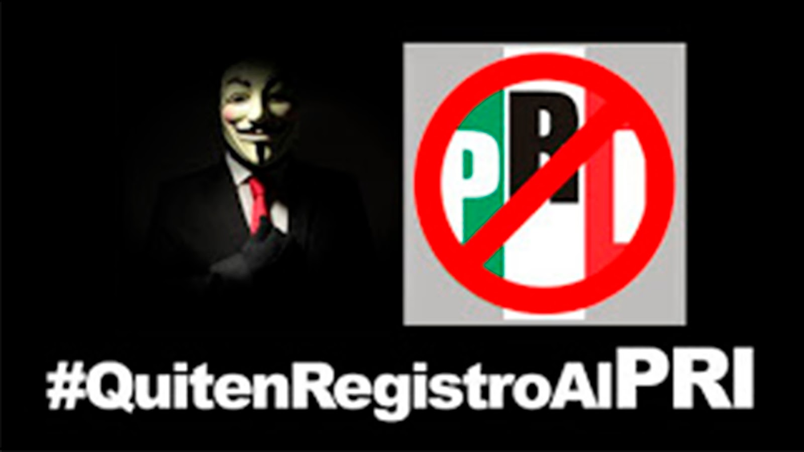 Lanzan petición para quitarle el registro al PRI: ¿Estas de acuerdo? Firma la petición.