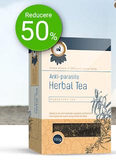 Comanda aici Ceaiul Monahal care elimina parazitii din corp