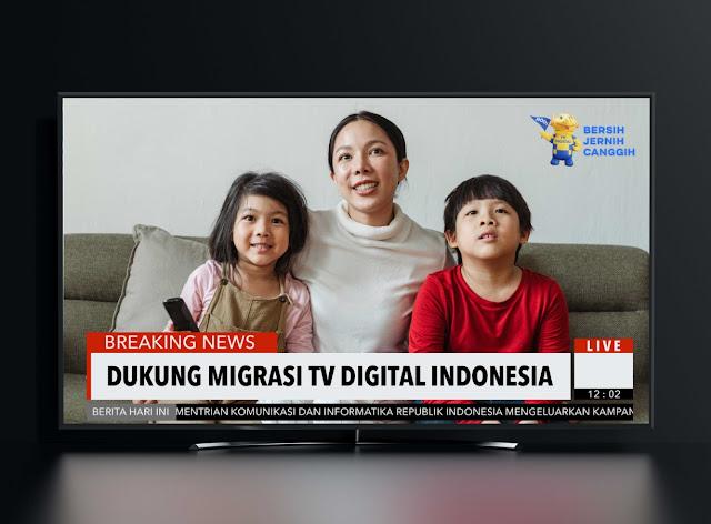 Tanpa Beli TV Baru, Begini Cara Migrasi ke TV Digital Biar Nonton TV Auto Jernih