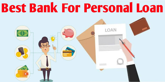 Which bank is best for personal loan?