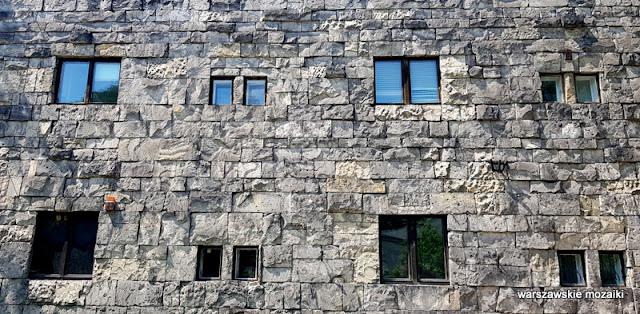Warszawa Warsaw profesor Bohdan Pniewski aleja na skarpie 27 architektura modernizm piaskowiec marmur willa masońska