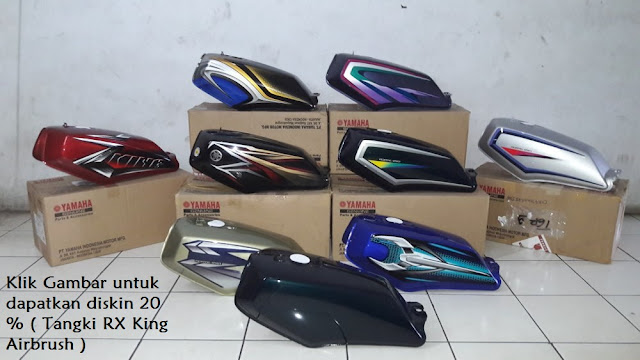 Tangki RX King Airbrush