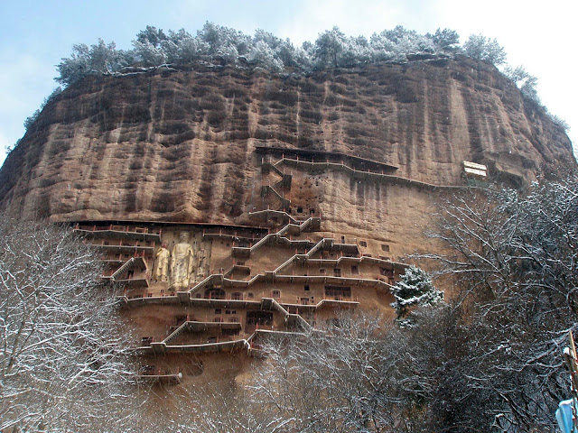 Damage assessed at Buddhist grottoes in NW China