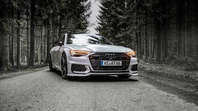 Audi Silver Gray Sports Car 2020 Wallpaper