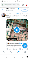 Zlatan Ibile Acquires Two Pet Crocodiles (video)