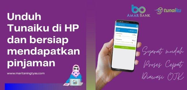 Aplikasi Pinjaman Online Tunaiku dari Bank Amar