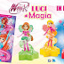 WINX CLUB MAGAZINE #199 + ''Luci di Magia'' Cosmix figures collection [Italy]