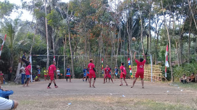 "Turnamen Bola Voli ""Pervoka Cup 2019"" Desa Kalijering"