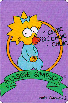 Bollycao The Simpsons Cromo 34