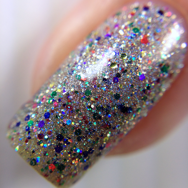 Glam Polish-I Glitterally Don't Give A #$%?