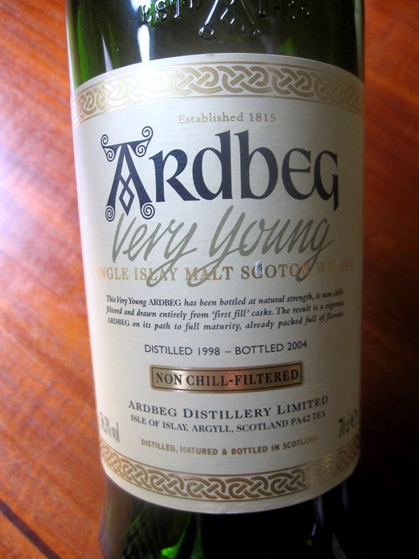 Smoke On The Water: Ardbeg Very Young