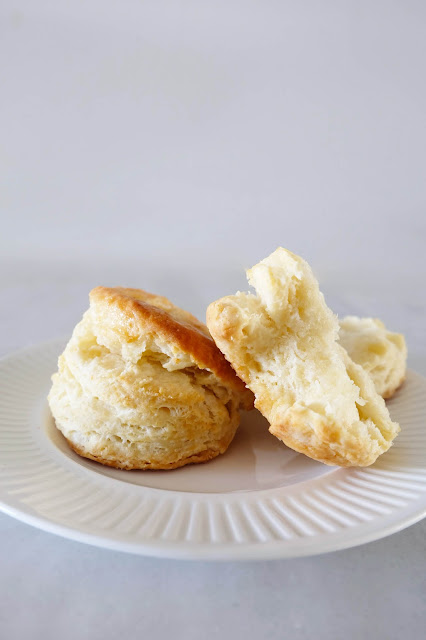 biscuits baked on plate