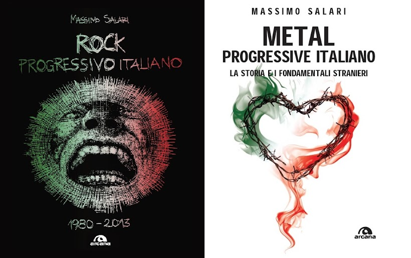 Libri ROCK PROGRESSIVO ITALIANO 1980 - 2013 - METAL PROGRESSIVE ITALIANO