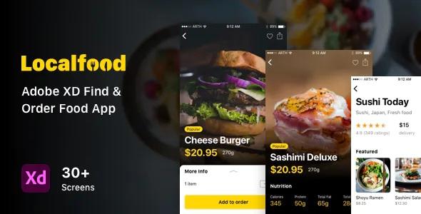 Best Find & Order Food App