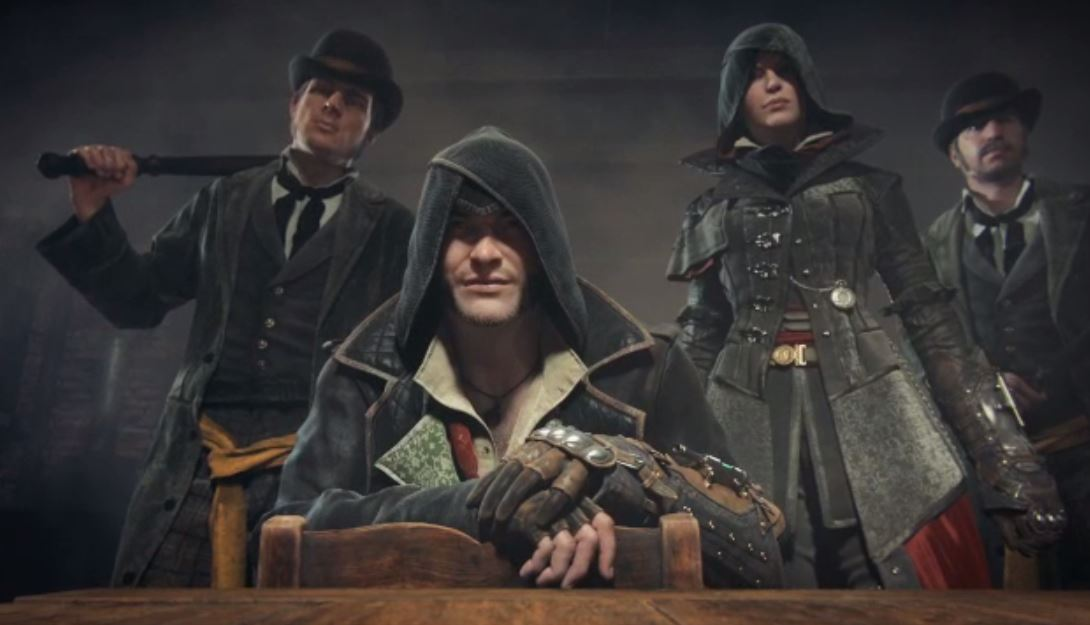 "Great new barrettSF work for Ubisoft/Assassin's Creed ""Welcome to the Family"""