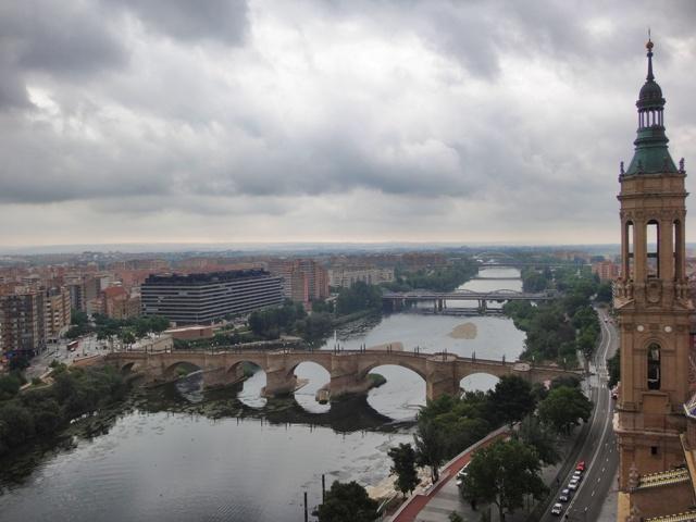 El Ebro desde la Torre