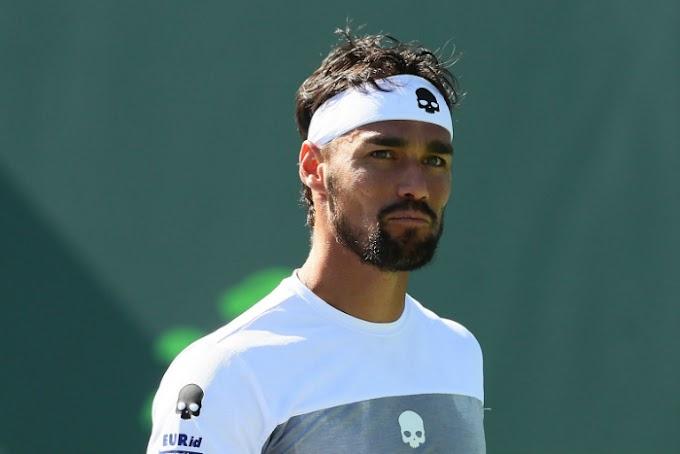 Tennis, Montecarlo: Fognini eliminato ai quarti di finale
