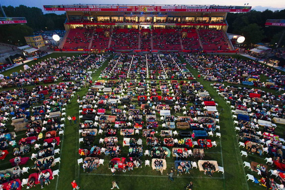Union Berlin stadium turned into World Cup Living Room