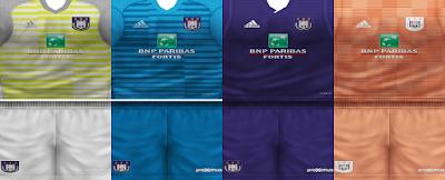 PES 6 Kits R.S.C. Anderlecht Season 2018/2019 by VillaPilla