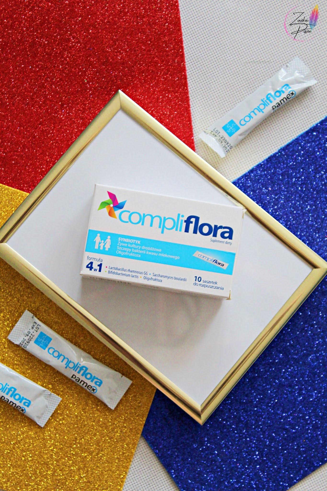 Compliflora - synbiotyk przeznaczony dla niemowląt, dzieci i osób dorosłych