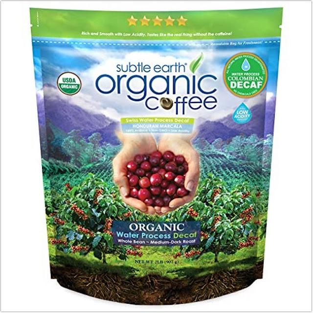 Subtle Earth Organic DECAF;Organic Coffee Brands;