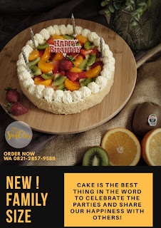 SayChiz 20cm MixFruit Cheesecake
