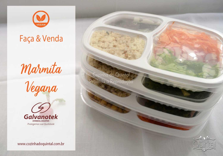 Especial Faça e Venda: Marmita Vegana! Na Cozinha do Quintal