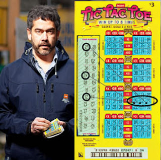 D E C E P T O L O G Y: How to crack a secret lottery ticket code