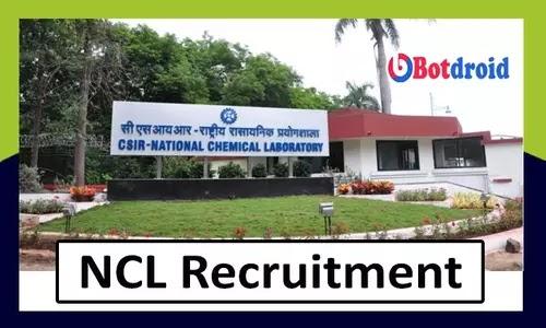 NCL Recruitment 2021, Apply Online for CSIR NCL Job Vacancy