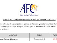 Jawatan Kosong Terkini 2019 Di Konfederasi Bola Sepak Asia ( AFC )